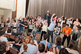 El grupo de Teatro La Cuarta Pared Teatro Universitario a ...