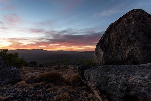 sunrise hiking camping mountain hill sunset