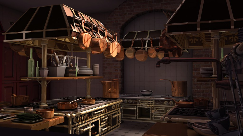Ratatouille Kitchen Compositewip4 Wip4 For Cgsociety S N