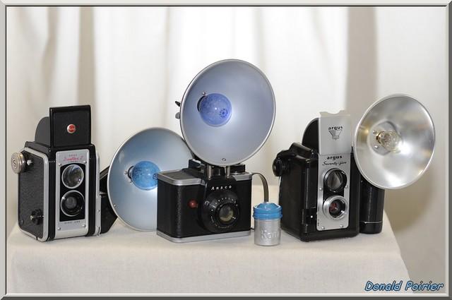 Kodak duaflex II. Ready flash (Ansco). Argus seventy-five. N° 137,  021,  208