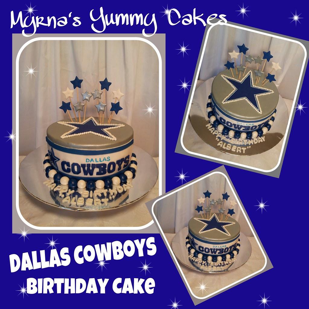 Fine Dallas Cowboys Birthday Cake By Myrnas Yummy Cakes Flickr Personalised Birthday Cards Paralily Jamesorg