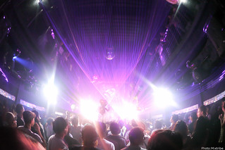 Awesome Laser!!! - Party Fish Eye photo @Joule Osaka 魚眼レンズ パーティーフォト | by Mixtribe Photo
