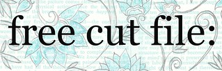 free cut file | by melstampz