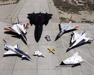 1997 Dryden Research Aircraft Fleet on Ramp | by NASA on The Commons