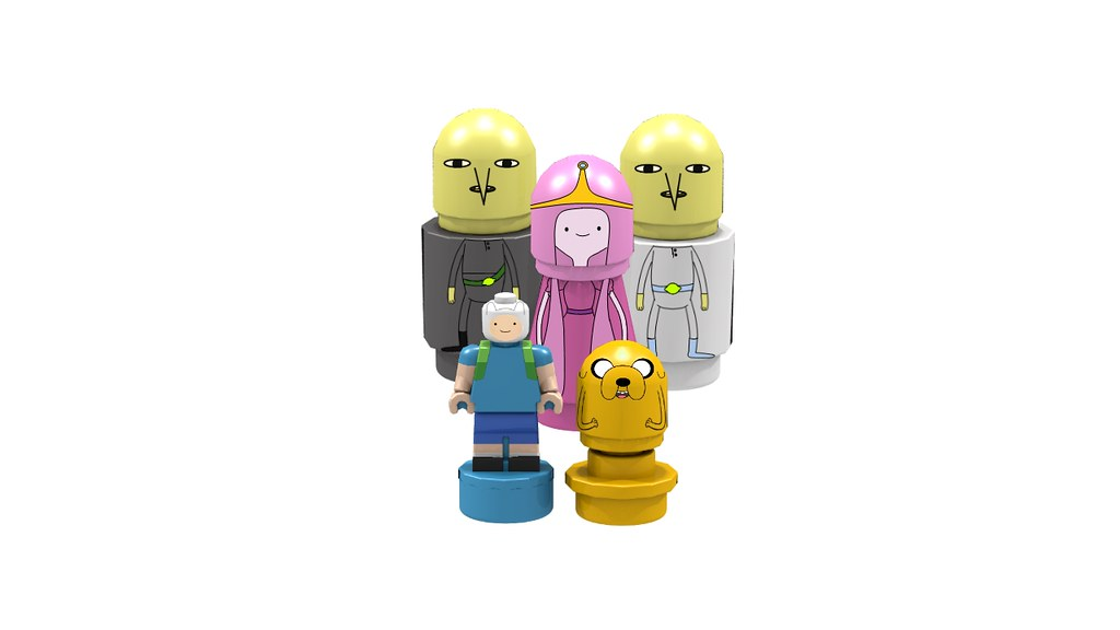 Castle Lemongrab Microfigs | The micro figures from the Cast