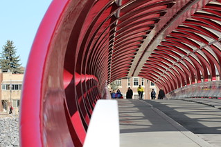 The peace bridge Calgary | by davebloggs007
