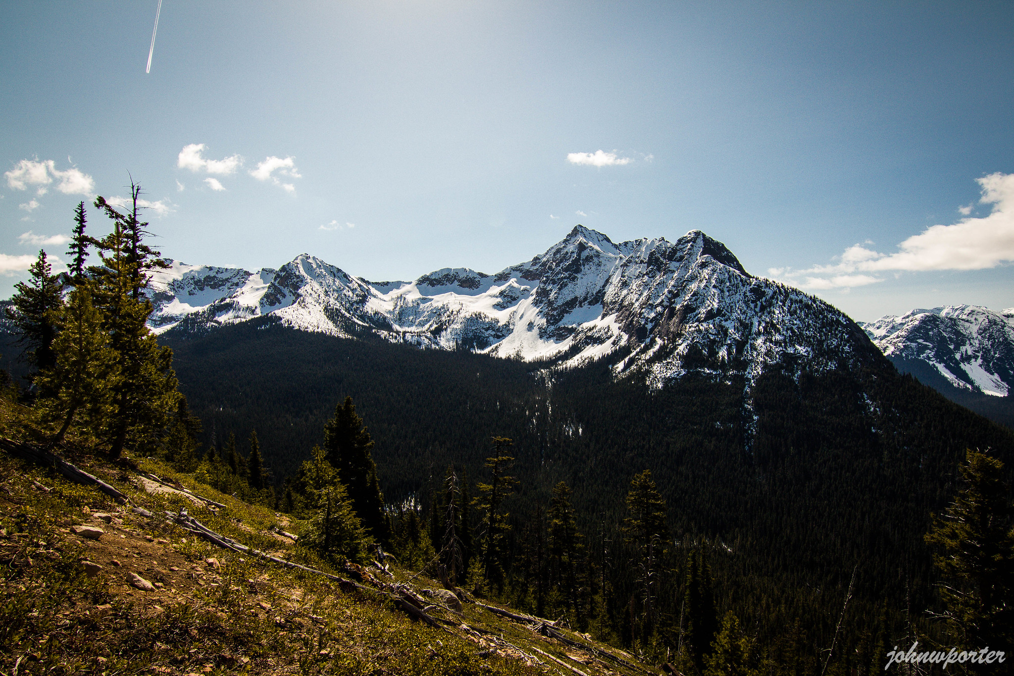 Porcupine Peak from the south slopes