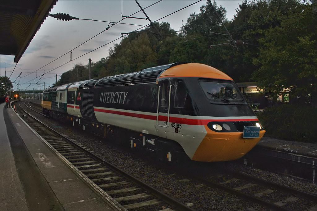 Great Western en route to York