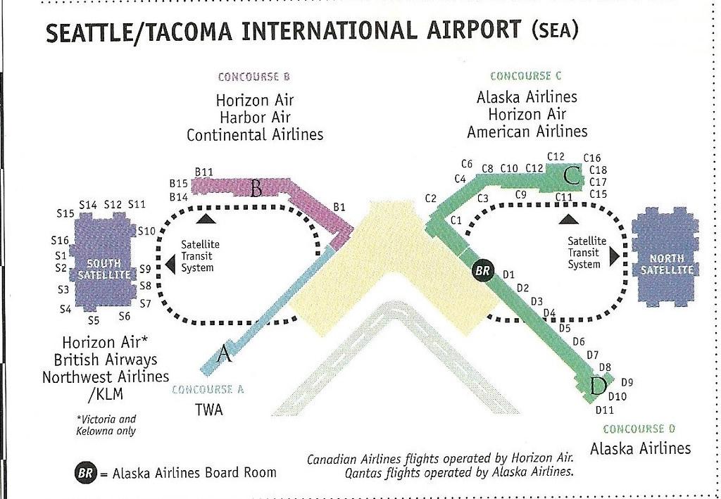 Alaska SEA diagram, December 1999 | More Seattle/Tacoma Inte ...