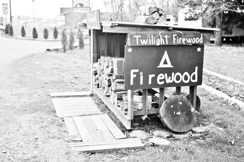 Twilight firewood - really? | by tomsbiketrip.com