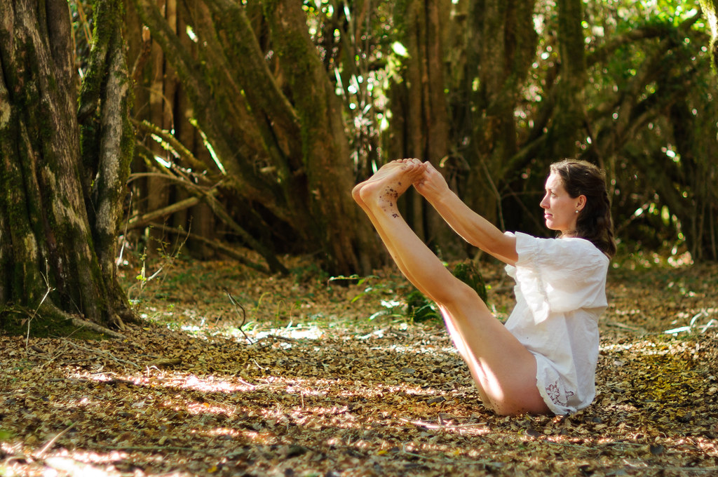 Yoga in the Woods With Cholé ...
