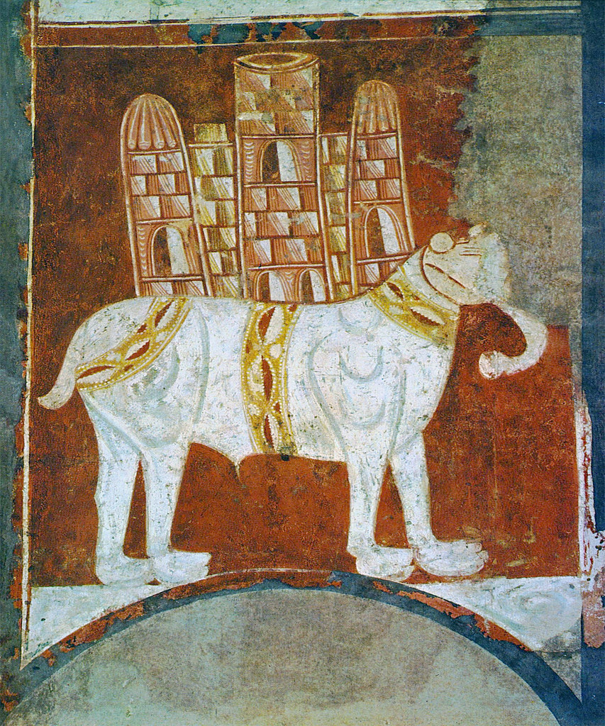 This elephant - named Abu'l Abbas - was a gift of Caliph H… | Flickr