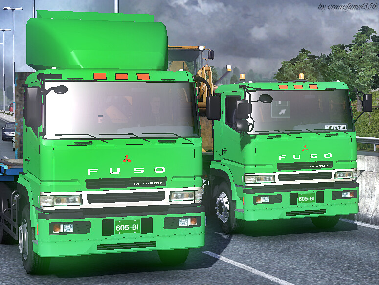 Mitsubishi Fuso super great in ETS2! | Mitsubishi Fuso super… | Flickr