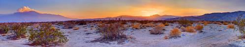 california light red sky panorama mountain color art nature yellow composition photoshop sand desert pentax scenic handheld hdr deserthotsprings pentaxkx sanjacintomountains littlesanbernadinomountains photomatixpro handstitchedpano pentaxart smcpdal1855mmf3556al deserthotspringscaliforniausa