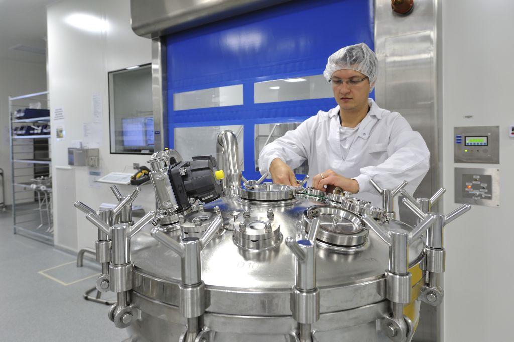 Vaccine Production | Production site Sanofi Pasteur Val de R