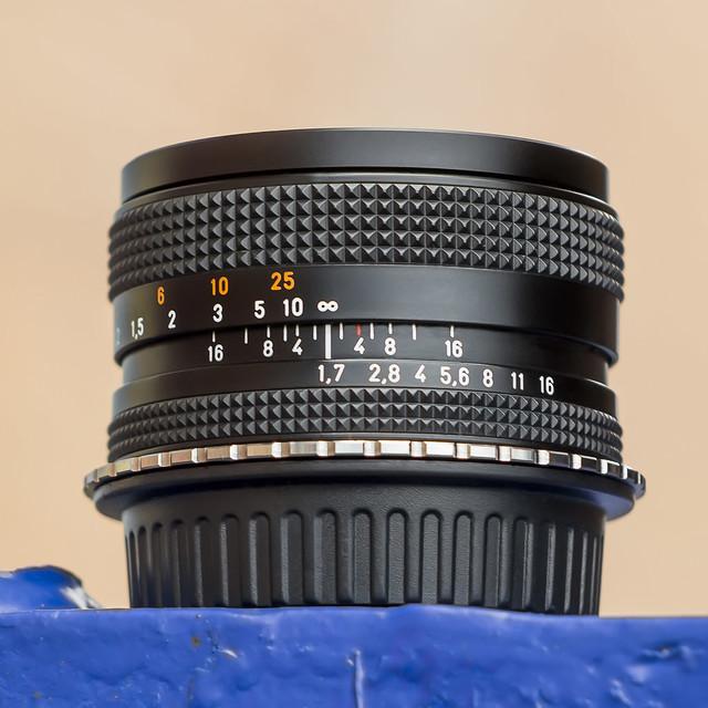 Carl Zeiss Planar 50mm ƒ/1.7 T* [C/Y]