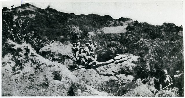 Some of the earliest ANZAC trenches at Gallipoli, 1915 - Archives New Zealand Te Rua Mahara o te Kāwanatanga