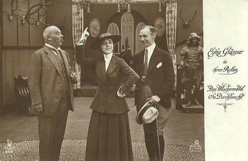 Erika Glässner in Das Wäschermädel Seiner Durchlaucht (1917)