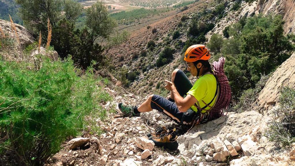Largas charlas de escalada