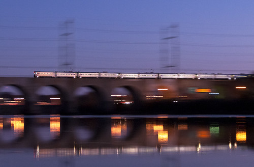 nec northeastcorridor raritanriverbridge raritanriver njt njtransit arrowiii emu highlandparknj newbrunswicknj