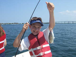Ben catches another fish