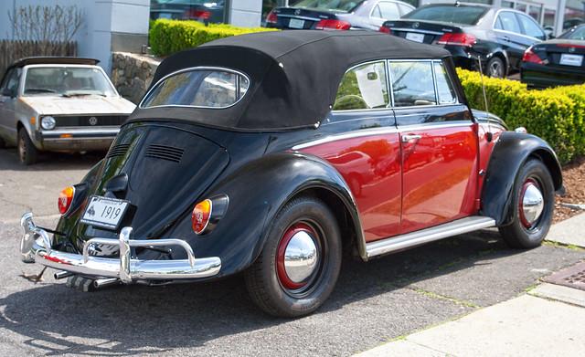 1963 VW Beetle convertible
