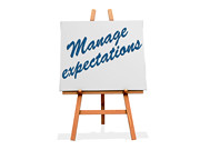 Manage Expectations | by One Way Stock