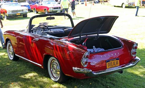 red ny convertible longisland record 11th watermill 1959 simca cabriolet aronde océane p60 facel 2013 recordsdumonde loceane
