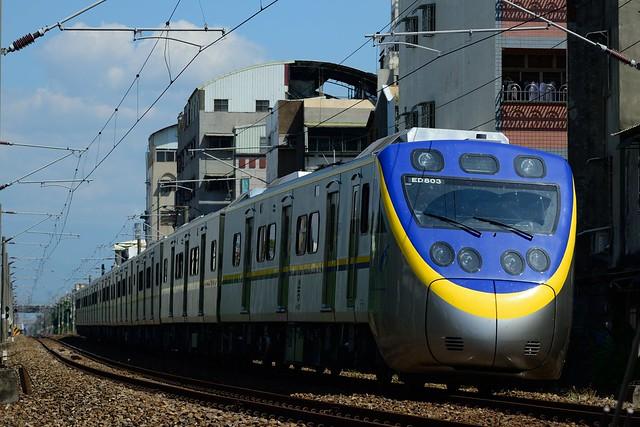 電聯車EMU800型@彰化機務段(北)