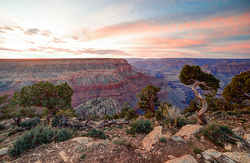 sunset arizona landscape unitedstates nationalparkservice southrim hermitsrest rimtrail grandcanyonnationalpark coloradoplateau grandcanyonvillage hermittrail coconinocounty