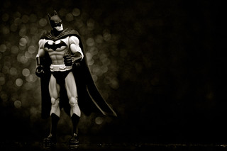 Infinite Batman (Black & White) | by JD Hancock