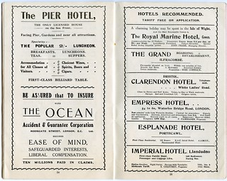 Bournemouth Visitors' Guide, week commencing 25th October, 1915 | by Alwyn Ladell