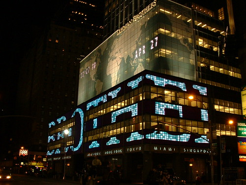 Lehman Brothers building, New York | by Scott Cawley