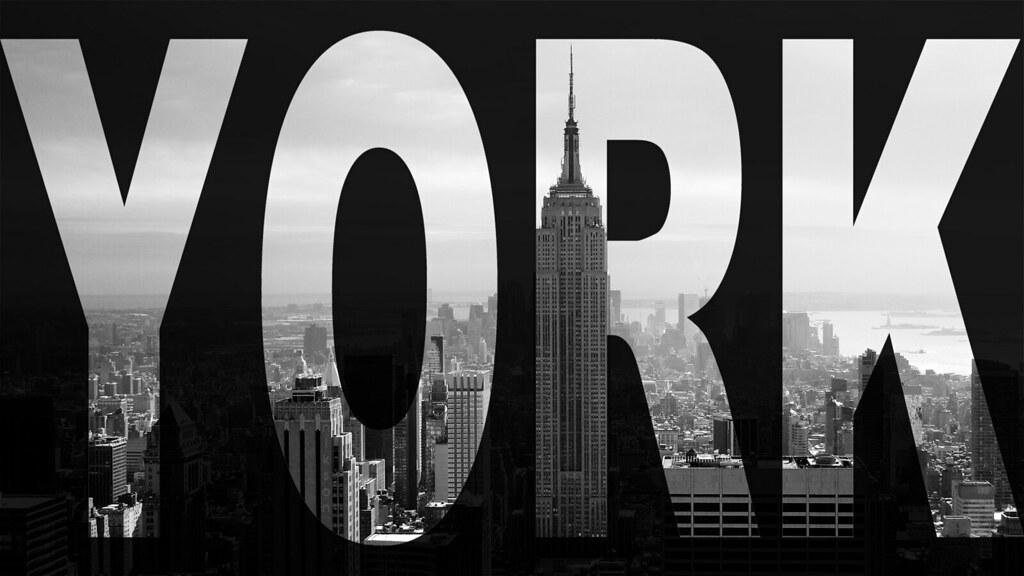 City New York Wallpaper Skyscraper Black And White Flickr