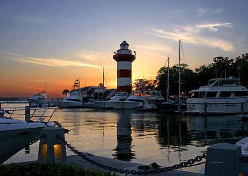 harbortownlighthouse sunsetatseapines hiltonheadislandsc sonyflickraward
