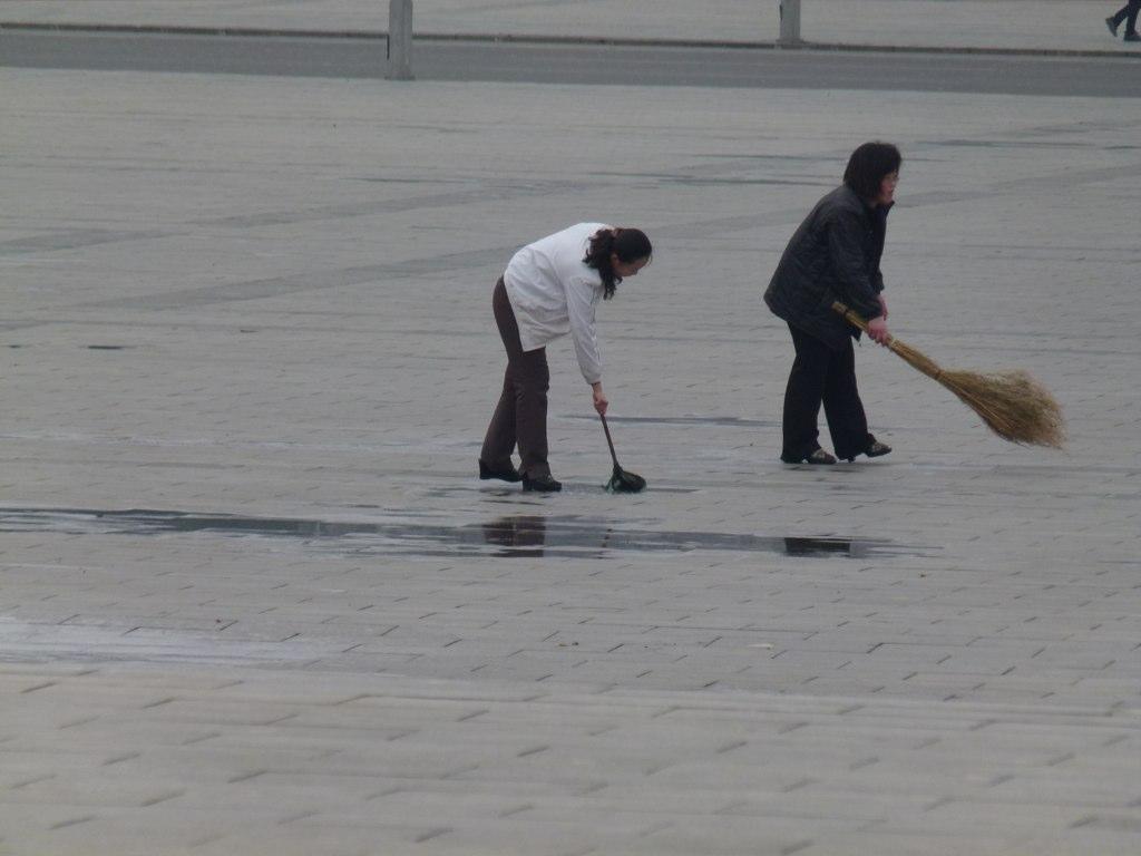 Sweeping puddles | Kyoto Designs UK | Flickr