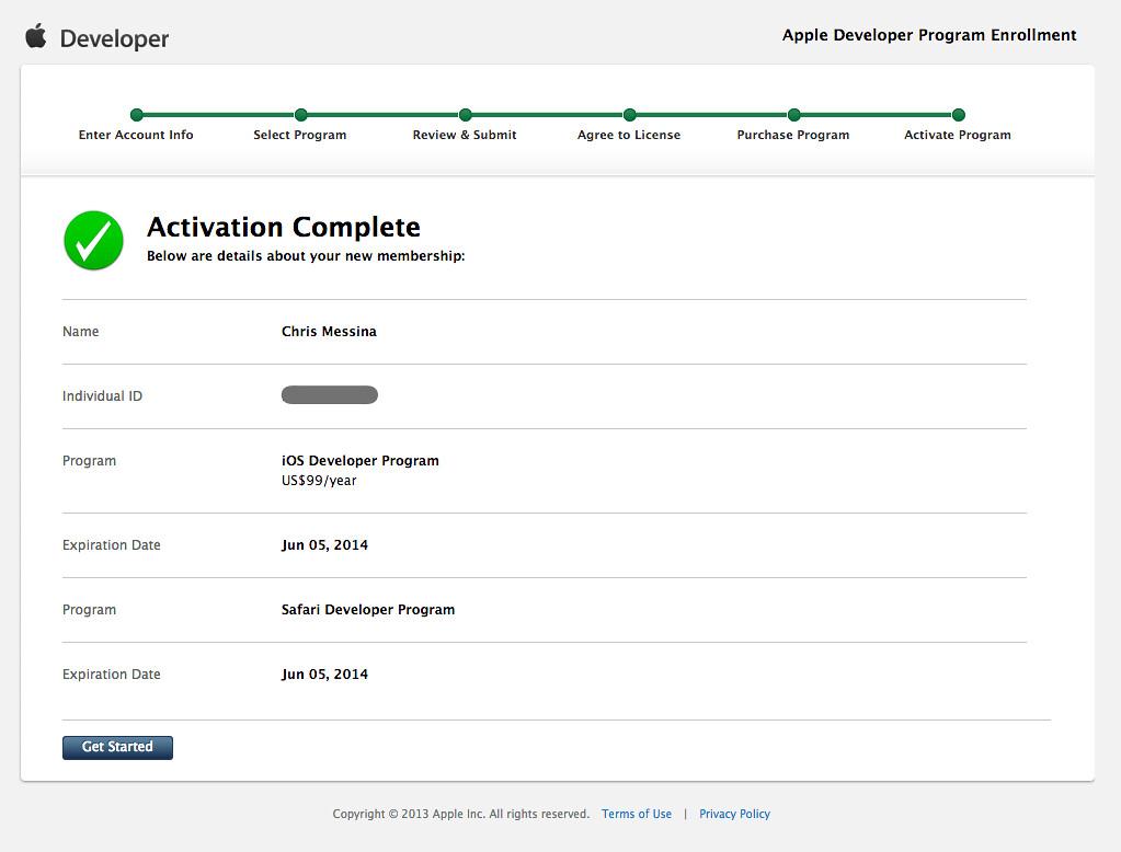 Apple Developer Program Enrollment   developer apple com/ios