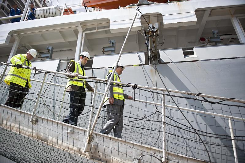 SG ship visit with Apostleship of the Sea