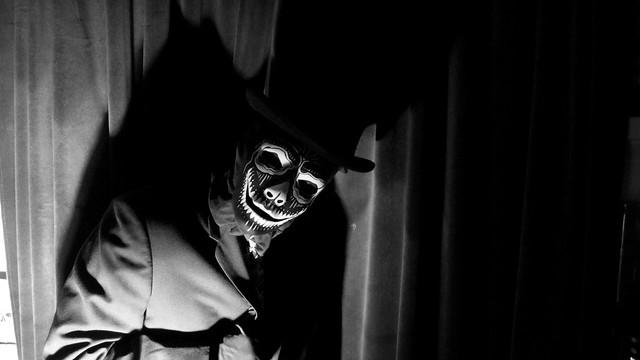 Shadow Man /  Masked Self-Portrait Series