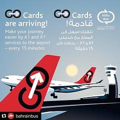 #Repost @bahrainbus  ・・・ Great daily public transport services every 15mins at #Bahrain_Airport  #GoRedBH #bahrainbus  التنقل من والى المطار افضل واسرع الآن مع حافلات النقل العام كل ١٥ دقيقة #باص_البحرين   #باص #حافلة #مطار #سفر #البحرين