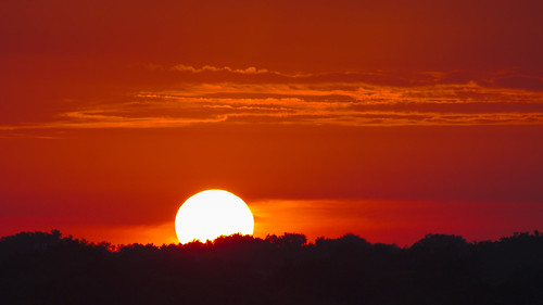 morning blue columbus ohio summer orange usa sun tree clouds sunrise canon eos unitedstatesofamerica sightseeing oh canoneos lanscape 70d canoneos70d