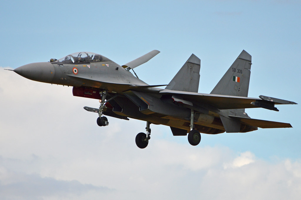 Sukhoi Su-30MKI-3 'SB 309'   Operated by 2sqn, Indian Air Fo…   Flickr