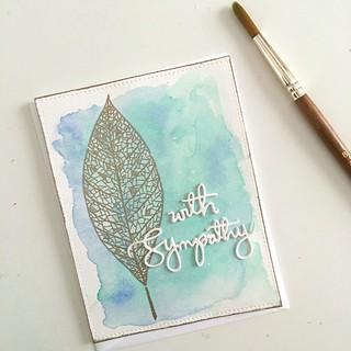 Sympathy card | by Kimberly Toney