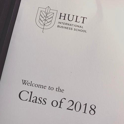 Next chapter starts today 🙏 #makeitcount #mba #backtoschool #hultdubai #hult #businessschool #2018 | by pedro.custodio