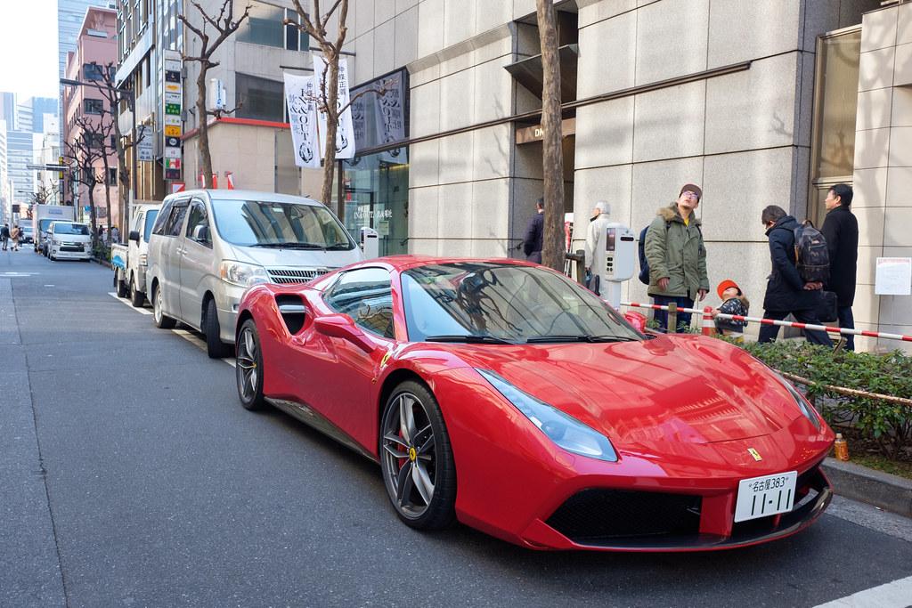 Ferrari 488GTB 2017/02/01vX7005389