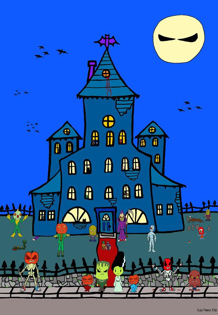 f4e8e4bc6753a Super Pee Wee Happy Halloween Werewolf Anime Frankenstein … | Flickr