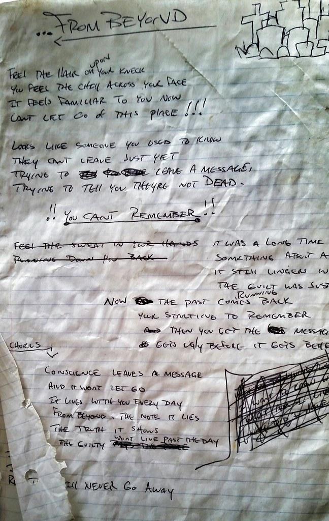 Lyrics to a song never written  | Ryan Moomey | Flickr
