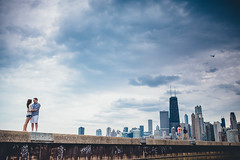 Chicago Skyline Engagement