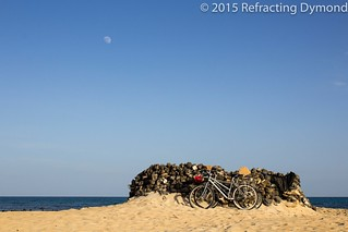 Bikes on a Beach   by refractingdymond