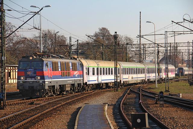 PKP IC EP09-029 , Wrocław Główny train station 22.11.2016